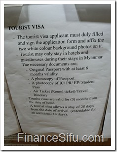 Mynmar Visa