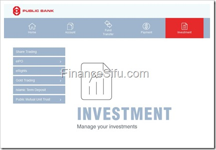 How Do I Apply For Erights Using Internet Banking Finance Sifu